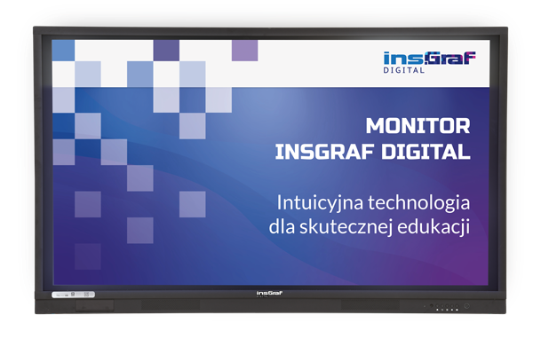 monitor interaktywny insgraf digital 4K UHD